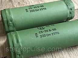 Резистор С5-35В    100 Ом  ---    200 Ом 50 Вт