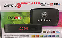 Цифровая приставка Т2+ дисплей  (Ютуб, IPTVT) Т2 Ресивер (Тюнер) Т2 007  Гарантия 1год, фото 1