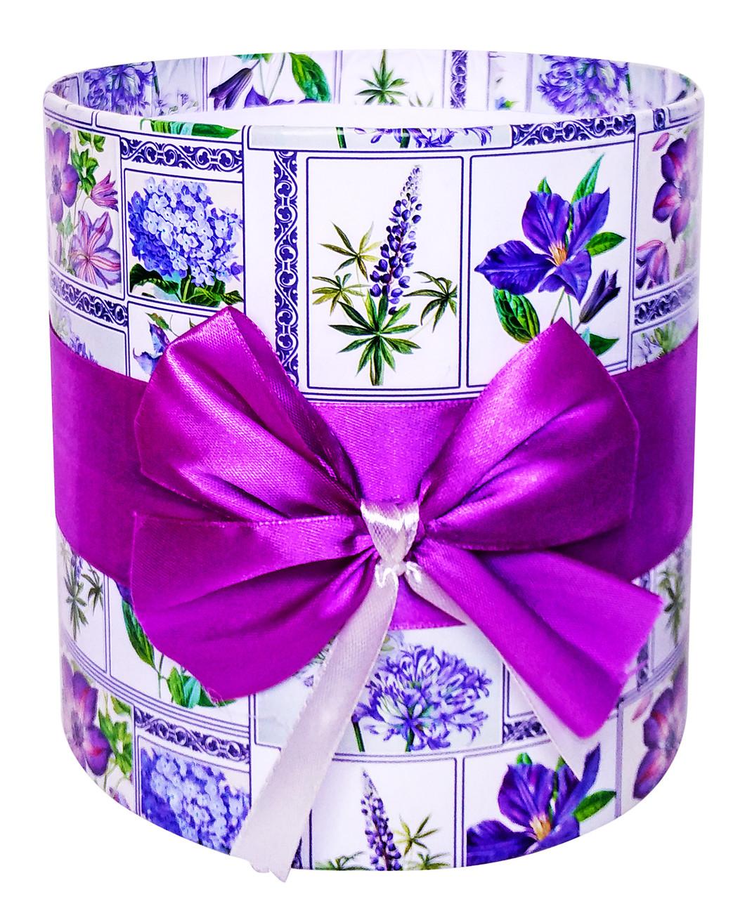 Коробка для цветов без крышки 16 х 15,5 см