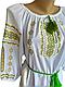 """Женская вышитая рубашка """"Венси"""" BL-0057, фото 3"""