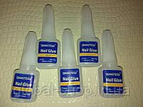 Прозрачный клей для ногтей и типсов Nail Glue 3 гр (опт 5 Шт!), фото 2