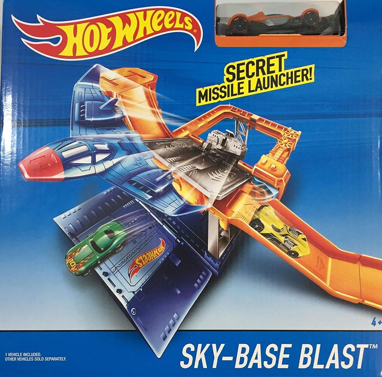Игровой трек Хот вилс  Небесный взрыв Hot Wheels City Sky-Base Blast
