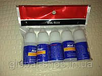 Прозрачный клей для ногтей и типсов Nail Glue 3 гр (опт 5 Шт!), фото 5