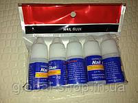 Прозрачный клей для ногтей и типсов Nail Glue 3 гр (опт 5 Шт!), фото 6