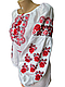 "Жіноча вишита сорочка (блузка) ""Ренді"" (Женская вышитая рубашка (блузка) ""Ренди"") BT-0038, фото 4"