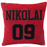 Подушка сувенирная декоративная с вышивкой, фото 4