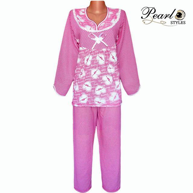 Пижама женская теплая