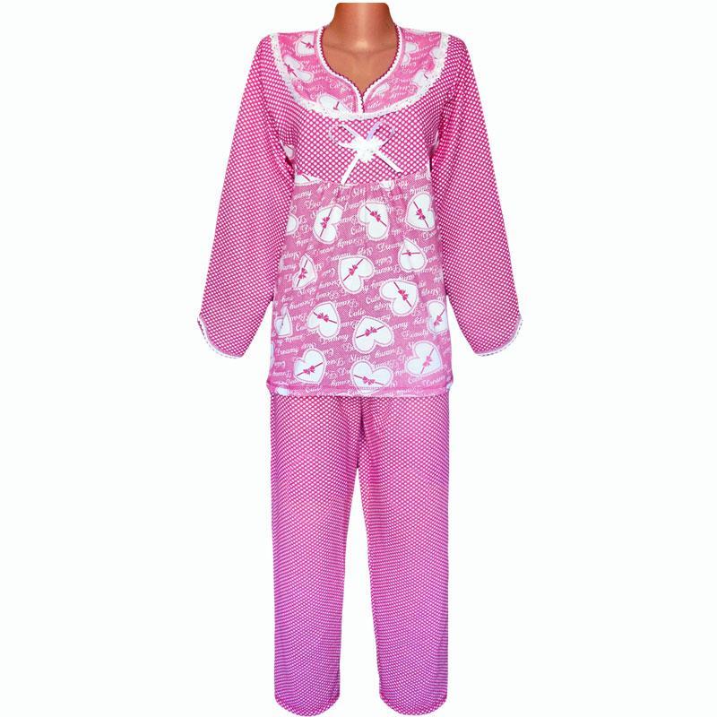 Теплая начесная пижама