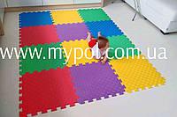 Коврик - пазл для детей, для игровых центров, 48х48 см толщина 12 мм с торцами