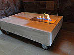 Біокамін камін журнальний столик loft бетон камин биокамин