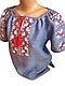 "Жіноча вишита сорочка (блузка) ""Ларрі"" (Женская вышитая рубашка (блузка) ""Ларри"") BT-0041, фото 2"