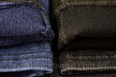 Джинси жіночі утеплені флісовою підкладкою S\M Чорний, фото 3