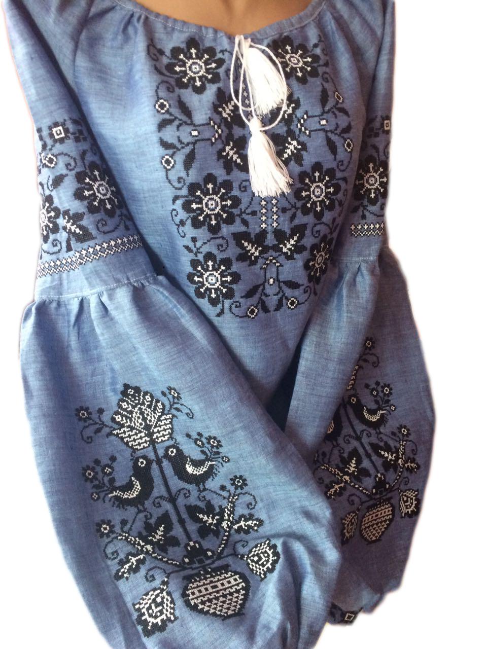 abda795e8d2739 Вишита жіноча блузка