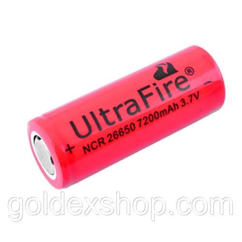 Акумулятор Ultra Fire, 26650-7200mAh