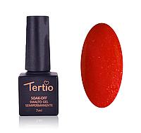 Гель-лак Tertio 7 мл № 025 темно-малиновый с микроблеском