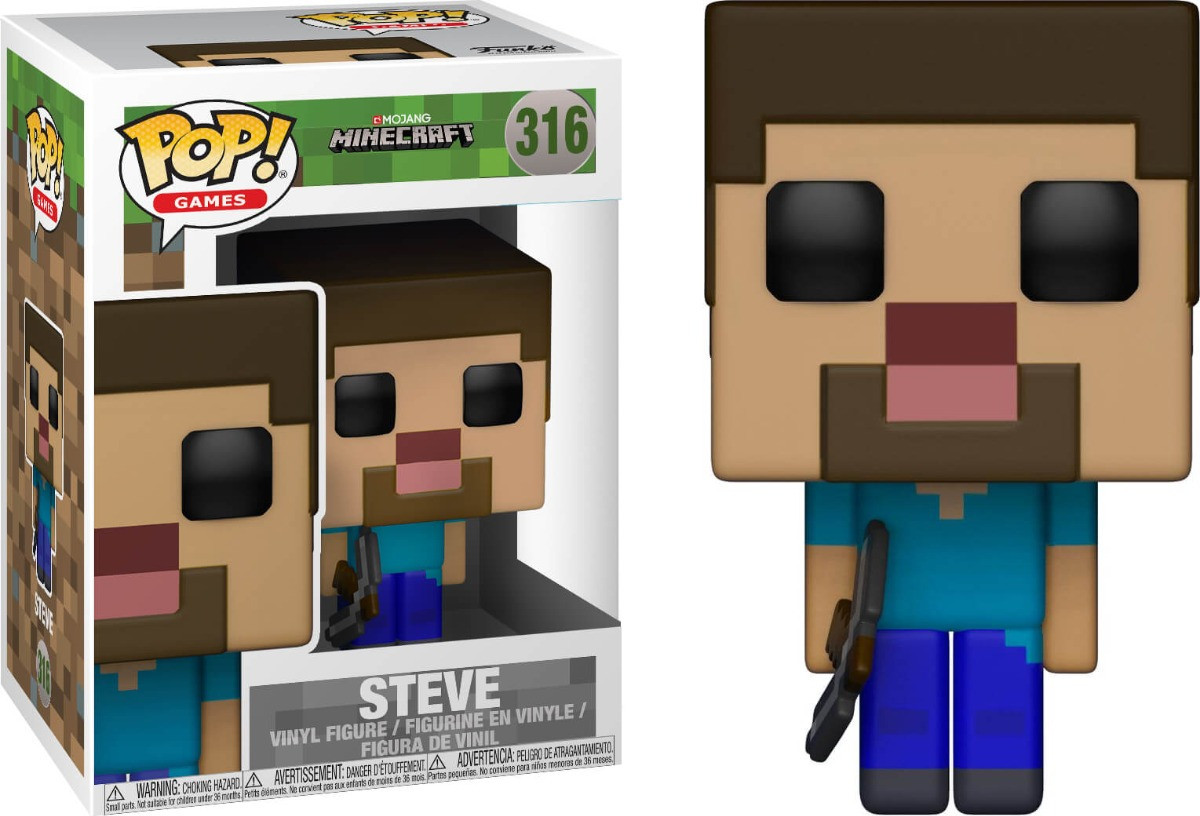 Фигурка Funko Pop  Minecraft: Steve