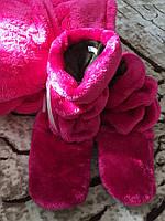 Домашние махровые сапожки, женские домашние тапочки Турция