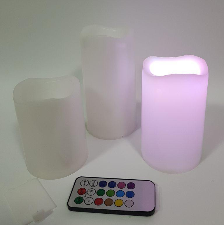 Светодиодные свечи Luma Candles на батарейках