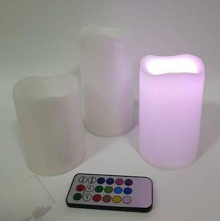 Светодиодные свечи Luma Candles на батарейках, фото 2