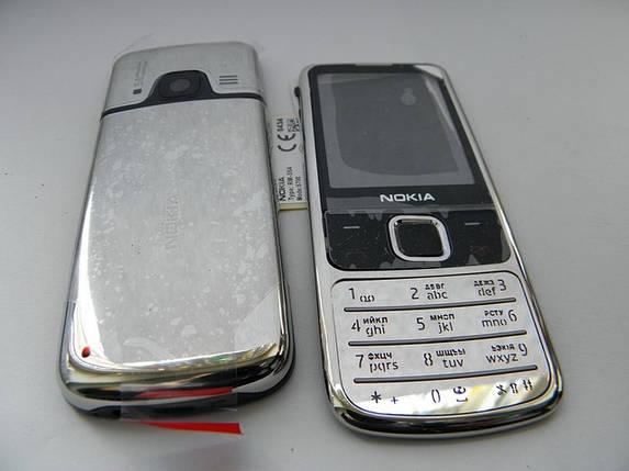 Корпус Nokia 6700C хром c клавиатурой class AAA+, фото 2