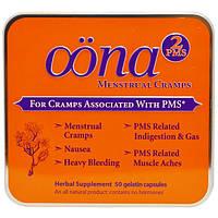 Oona, Желатиновые капсулы от менструальной боли, PMS2 50 желатиновых капсул