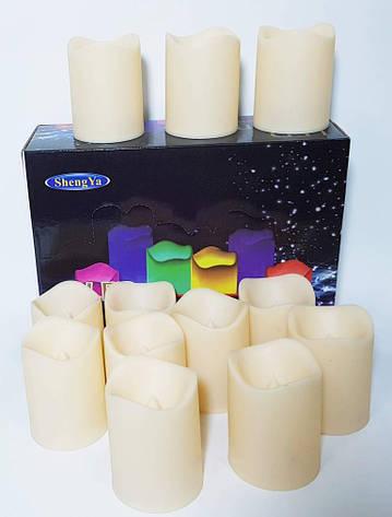 Светодиодные свечи (12 шт.) светодиодный светильник световой декор, фото 2