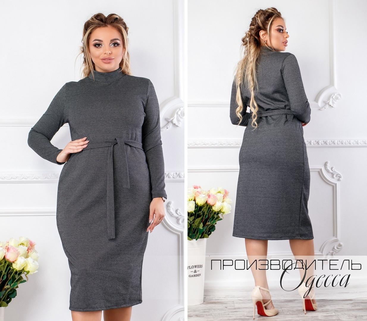 Женское платье батал Владлена