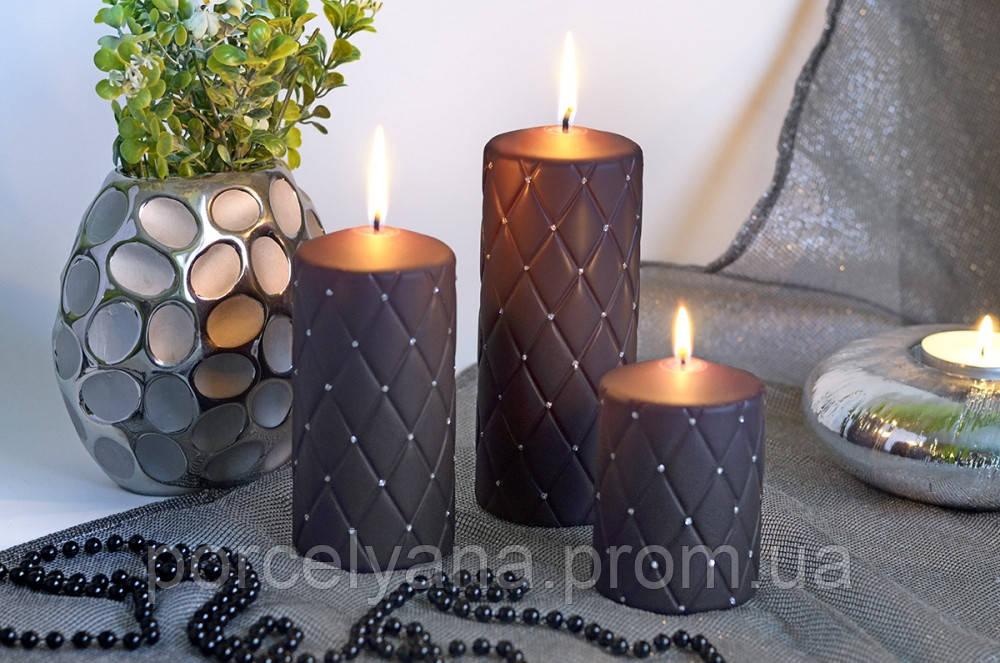 Свеча 10 х 7 cм цилиндр Florencja Artman