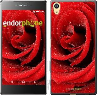 "Чехол на Sony Xperia Z5 Красная роза ""529c-274-571"""