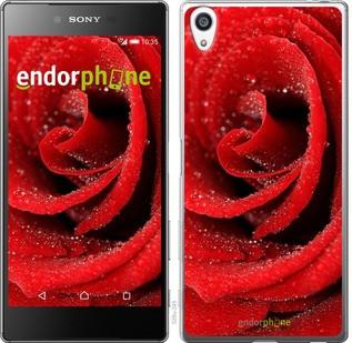"""Чехол на Sony Xperia Z5 Premium Красная роза """"529c-345-571"""""""