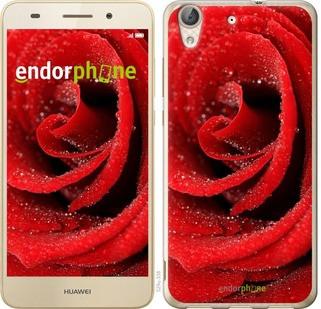 """Чехол на Huawei Y6 II Красная роза """"529c-338-571"""""""