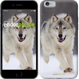 "Чехол на iPhone 6s Бегущий волк ""826c-90-571"""