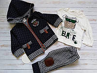 Качественный спортивный костюм тройка для малыша