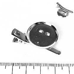 [23мм] Фурнитура для бижутерии основа для Броши металлическая