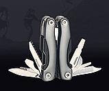 Брелок набор инструментов плоскогубцы отвертка нож открывалка, фото 4