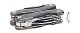 Брелок набор инструментов плоскогубцы отвертка нож открывалка, фото 3