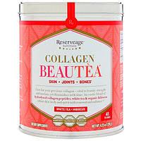 ReserveAge Nutrition, Collagen Beautea, White Tea + Hibiscus Flavor, 48 Tea Bags