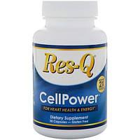Res-Q, CellPower, в 2 раза больше коэнзима Q10, 30 капсул