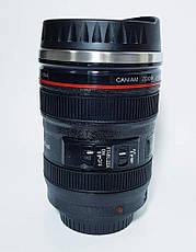 Термочашка с линзой в форме объектива Caniam (Canon), фото 2