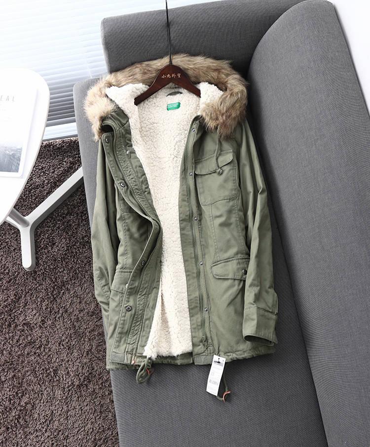 Женская куртка-парка (демисезон/еврозима)