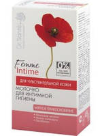 Молочко для интимной гигиены Мягкое прикосновение для чуствительной кожи 230мл Dr.Sante Femme Intime