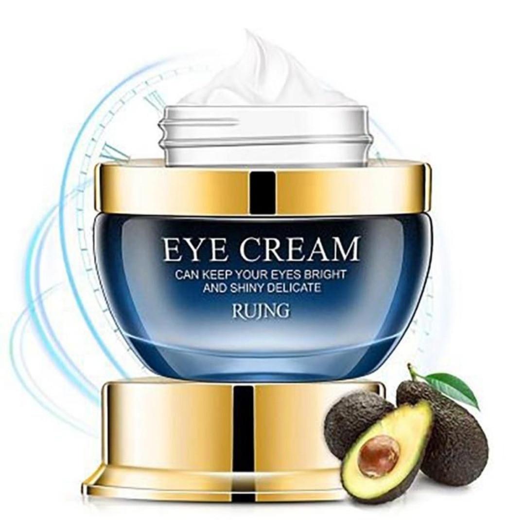 """Антивозрастной питательный, увлажняющий крем для глаз, с маслом авокадо """" MOIST EYE CREAM """"  RUJNG 25 ml."""