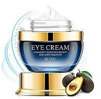 """Антивозрастной питательный, увлажняющий крем для глаз, с маслом авокадо """" MOIST EYE CREAM """"  RUJNG 25 ml., фото 1"""