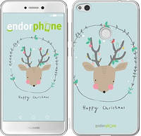 "Чехол на Huawei P8 Lite (2017) Happy Christmas ""4185c-777-571"""