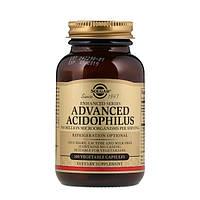 Solgar, Улучшенный Ацидофилин, 100 Капсул