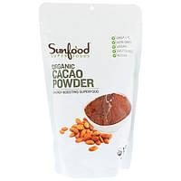 Sunfood, Органический какао-порошок, 454 г (1 фунт)