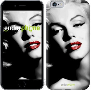 "Чехол на iPhone 6s Мэрилин Монро ""2370c-90-571"""
