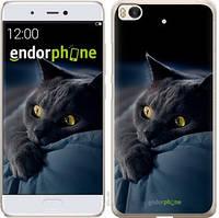 """Чехол на Xiaomi Mi 5s Дымчатый кот """"825c-395-571"""""""