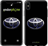 "Чехол на iPhone X Toyota. Logo v2 ""3139c-1050-571"""