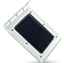 Светодиодный уличный фонарь 16 LED на солнечной батареи с датчиком движения и освещенности, фото 2